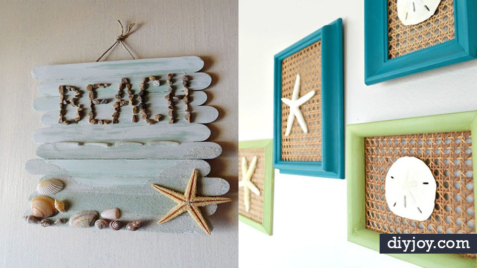 37 Best DIY Beach House Decor Ideas