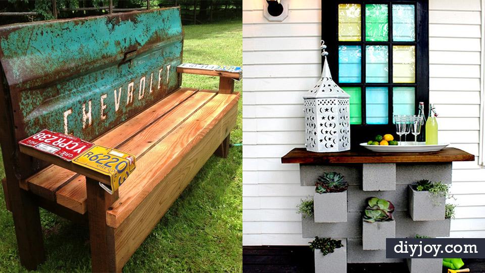 41 diy patio furniture ideas