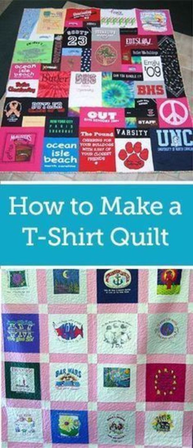 Tshirt Quilt Beginners