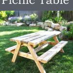 Best Diy Crafts Ideas Ana White Build A Build A Bigger Kid S Picnic Table Free And Easy Diy Pr Diy Loop Leading Diy Craft Inspiration Magazine Database