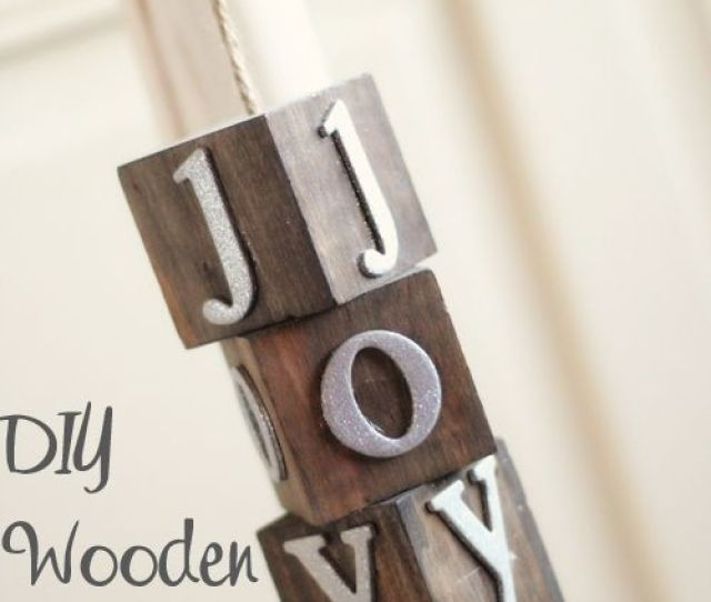 Pretty And Easy Wooden Christmas Ornaments Tutorial Shantychic Easy And Che