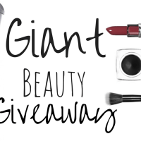 Month of Thankfulness Beauty Box Giveaway!