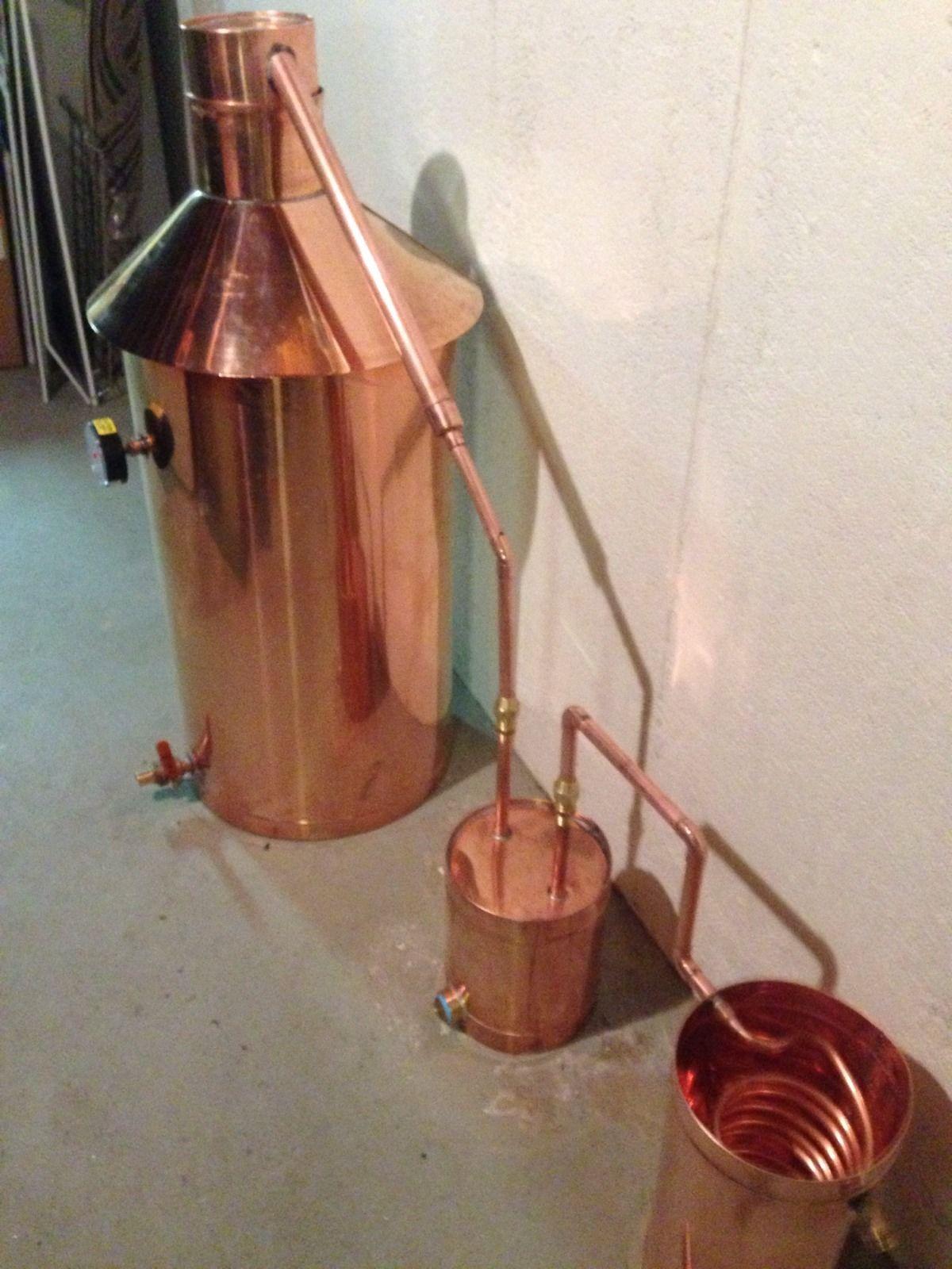 Discount Stillz 20 Gallon Heavy Copper Moonshine Still