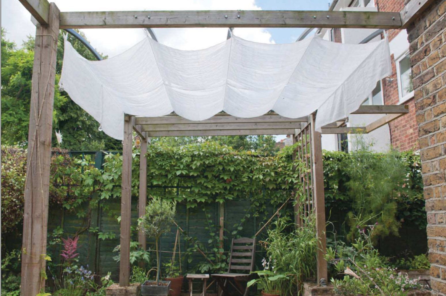 diy patio canopy how to build a simple