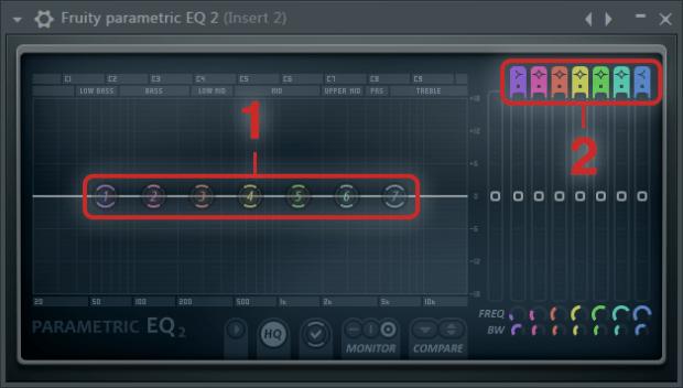 Fruity Parametric EQ