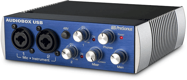 The PreSonus AudioBox