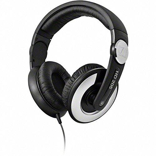 Sennheiser HD 205-II Studio Grade DJ Headphones (Black/Grey)