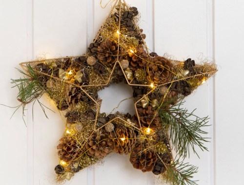 Návod na originálny vianočný veniec