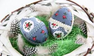 Návod na patchwork veľkonočné vajíčko