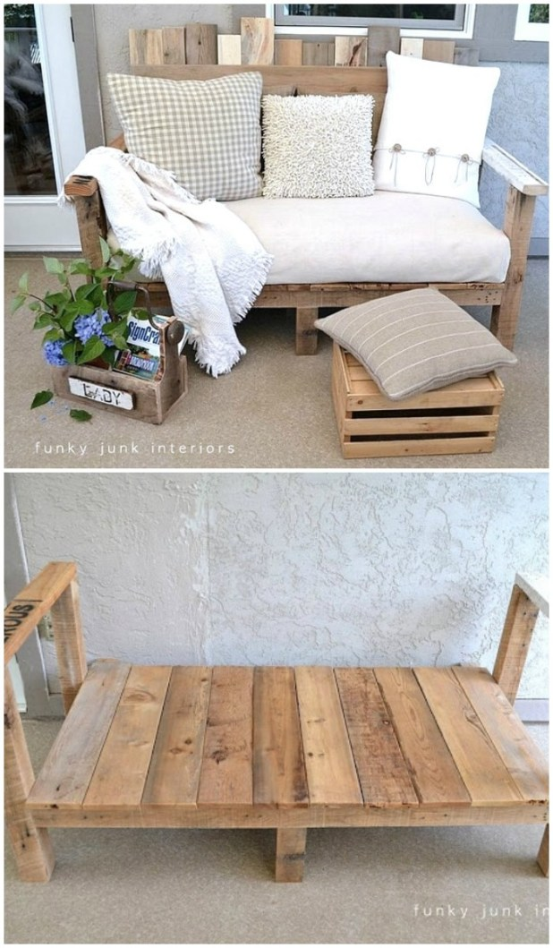 27 Best Diy Pallet Sofa Plans Step By Instructions Crafts