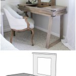 Build Your Own Diy Pallet Makeup Vanity Ikea Desk And Vanity