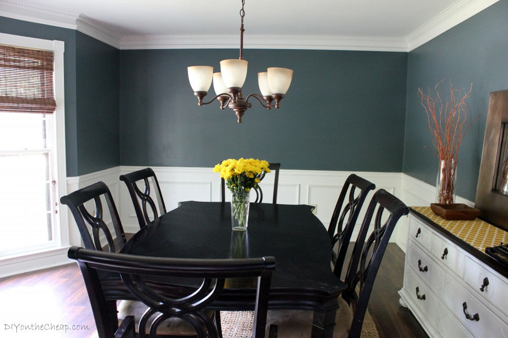 Dining Room Before And After Erin Spain