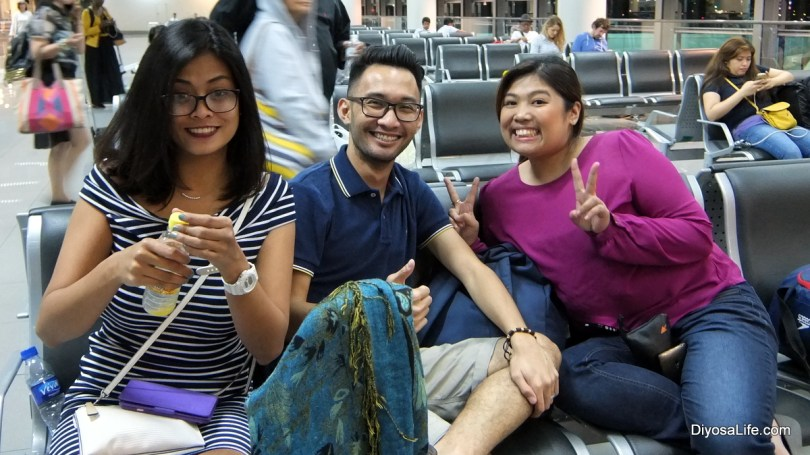 Positive Peeps on the way to Kota Kinabalu