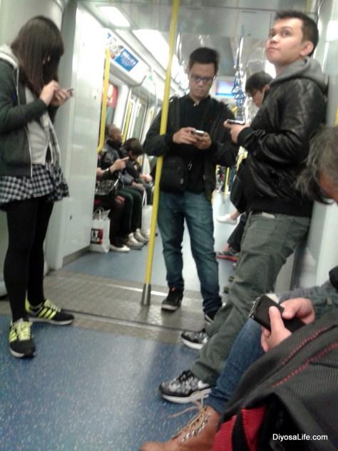 Commuting in Hong Kong