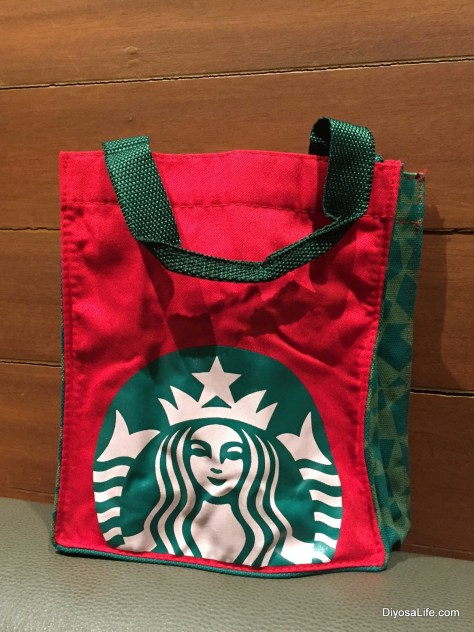 Starbucks Holiday Loot for Davao Bloggers