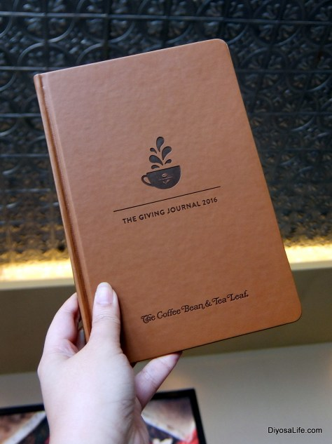 CBTL's The Giving Journal