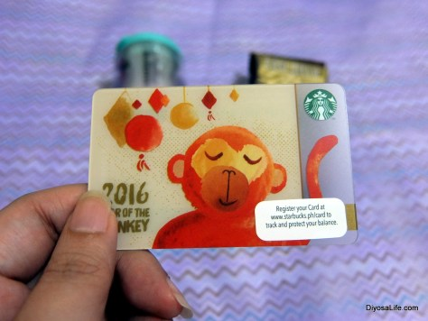 Starbucks Philippines Lunar New Year 2016 Card