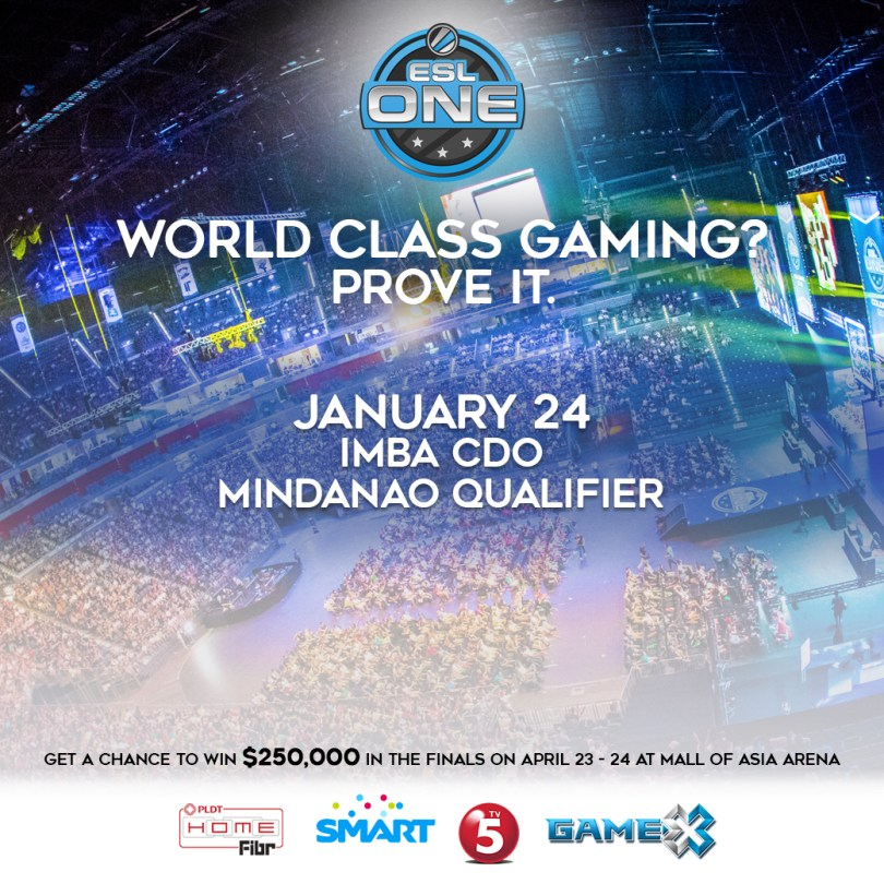 ESL One Manila Mindanao Qualifier at IMBA CDO