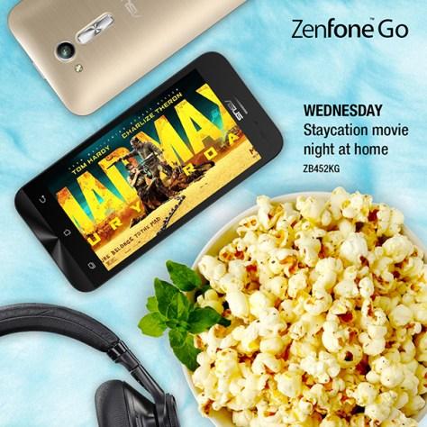 Popcorn Wednesdays with Asus ZenFone Go