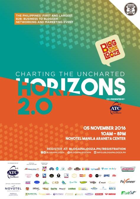 Blogapalooza 2016: Horizons 2.0