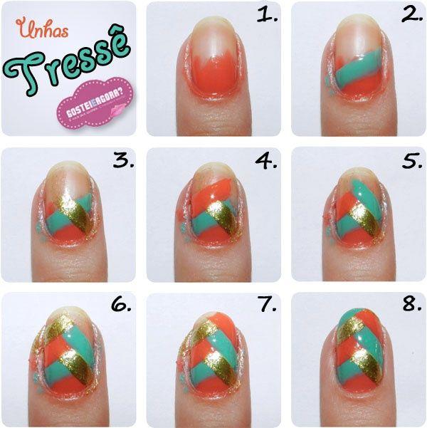 DIY Ideas Nails Art : 38 Interesting Nail Art Tutorials... - DIYpick ...