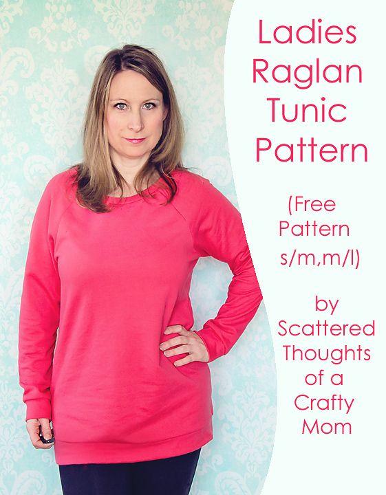 Ladies Raglan Top Pattern