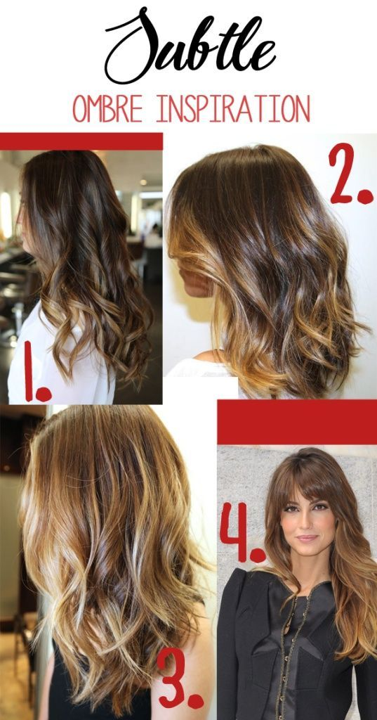 DIY Face Masks : Light Brown Hair Color - Highlights for Brunette ...