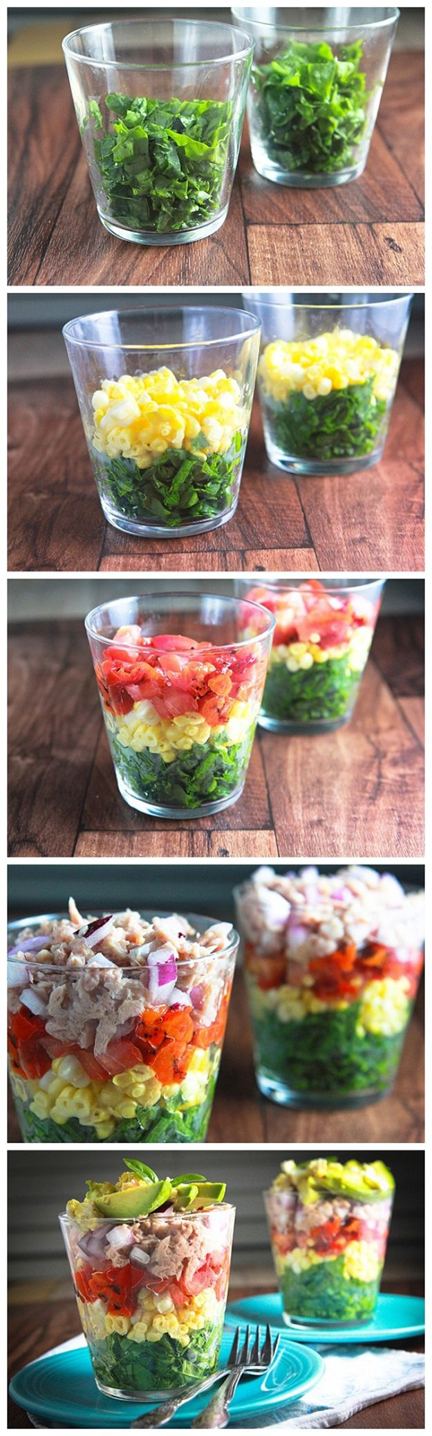 Diy food recipe for party rainbow salad in a glass this rainbow salad in a glass this delightful salad to go easy lunch forumfinder Gallery
