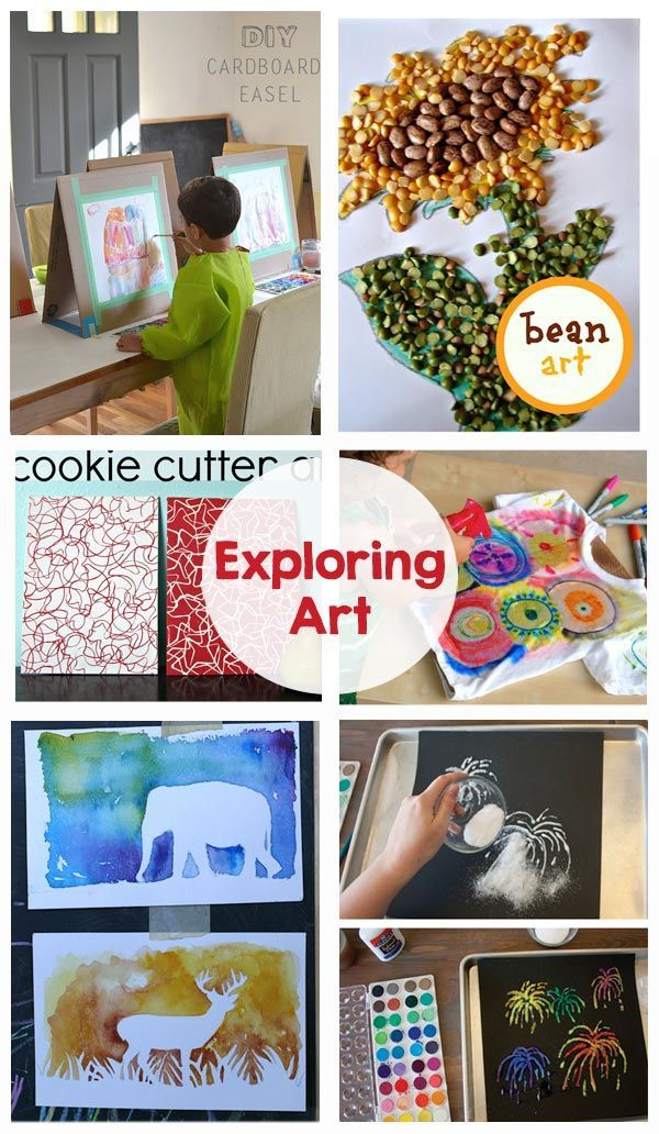 Best Diy Crafts Ideas For Your Home. Exploring Art   Simple, Fun Art  Projects For Kids! Keep Them Entertained This Su