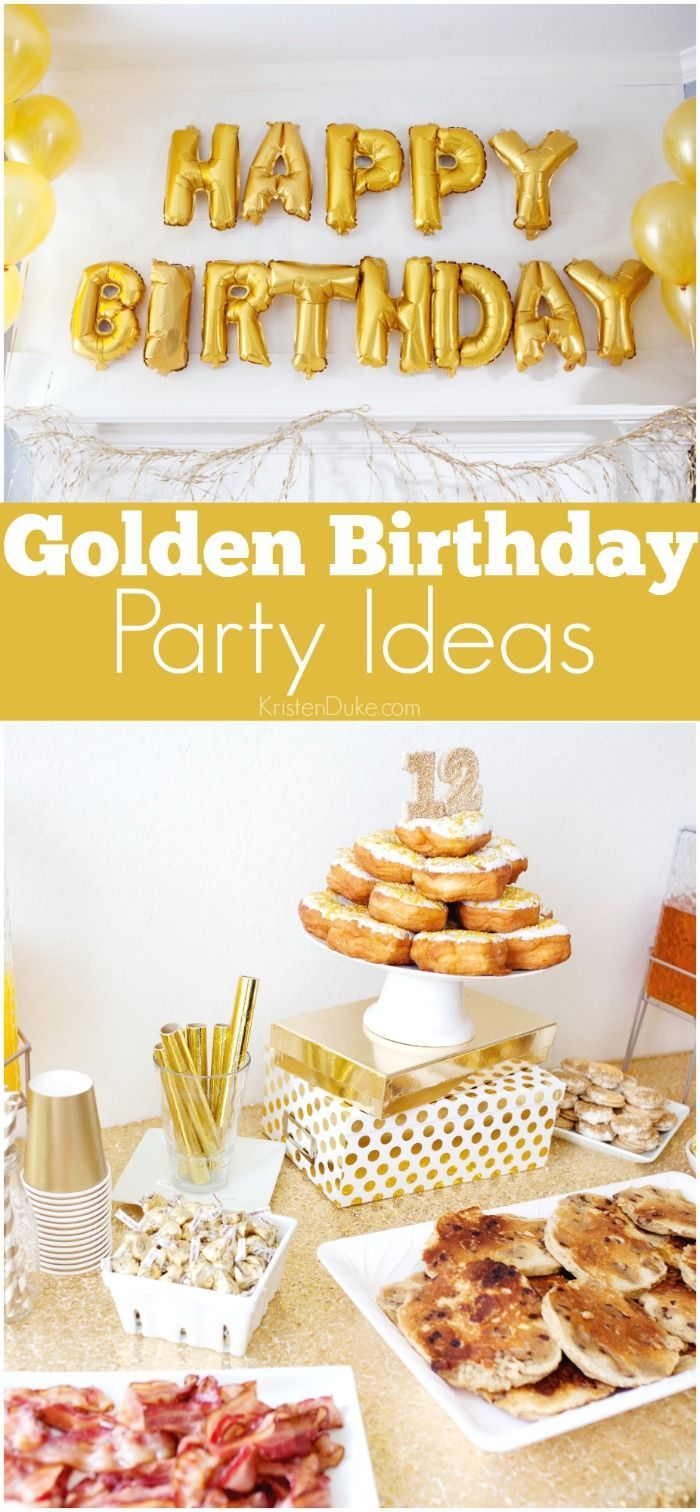 Best Diy Crafts Ideas For Your Home. Golden Birthday Party Ideas. Fun Gold  Themed Party Ideas That Are Simple. Easy B