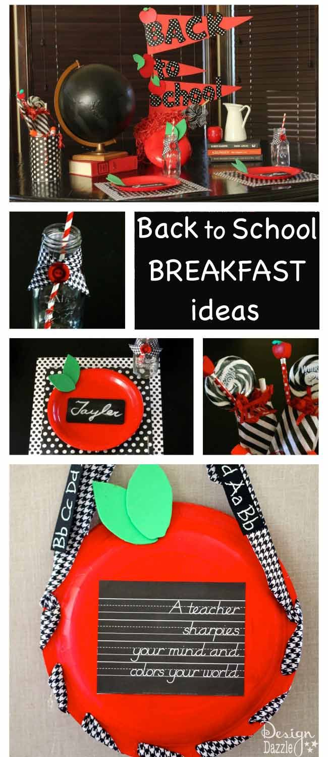 Make Back To School Breakfast Or Dinner Idea A Fun Family Tradition. Free  Printa.