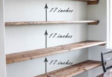 Diy Crafts Ideas DIY Dining Room Open Shelving