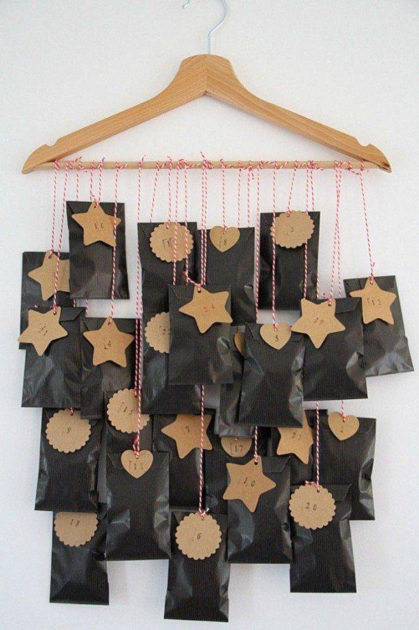 Calendrier de l'avent DIY pour Noël  www.homelisty.com...