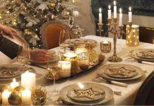 trends diy decor ideas une ide de dcoration gold et brillante pour la table de nol inspiration decoration - Idee De Deco Pour Noel