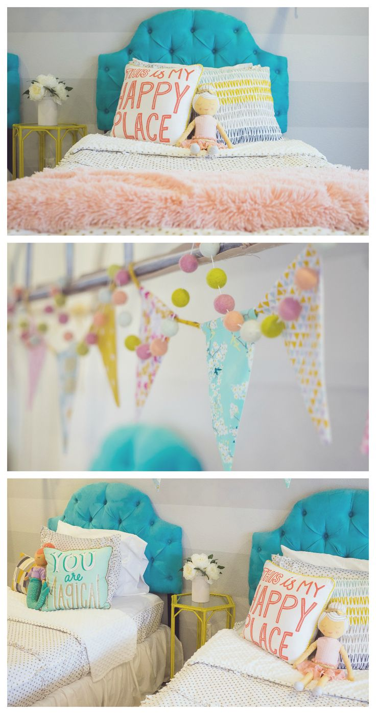 Best Diy Crafts Ideas For Your Home. Little Girls Bedroom Ideas | Fun Room  Makeover Using Beddyu0027s Zipper Bedding!