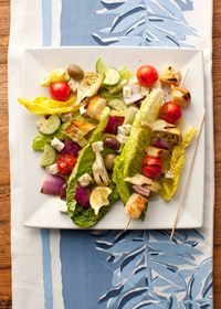 Diy food recipe for party grilled greek salad skewers healthy ddiy food recipe for party forumfinder