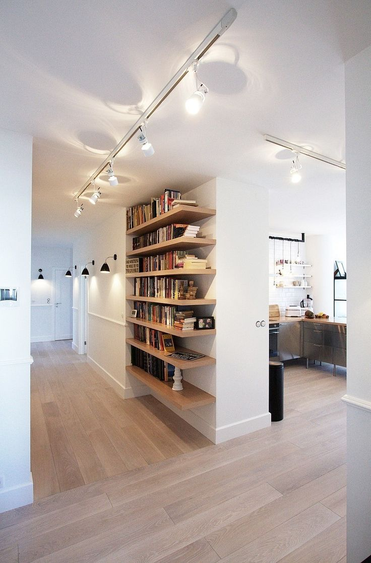 Hotte Ilot De Cuisine ~ Diy Shelves Ideas Scandinavian Apartment By Soma Architekci Il T