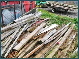 Wood could be needed in an emergency