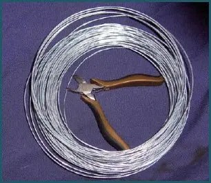 Store wire cutters along with your wire