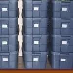 Keep you storage items orderly in bins.