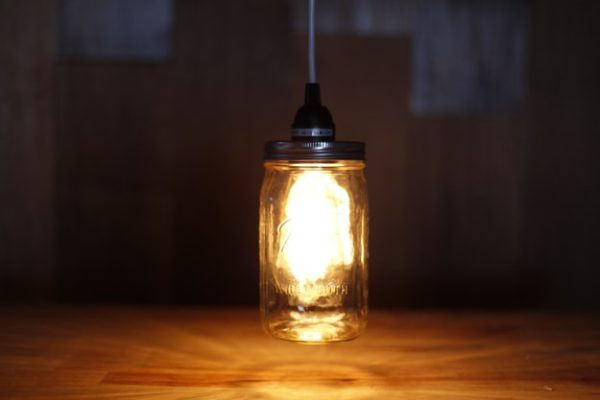DIY Mason Jar Pendant Lighting | Mason Jar Crafts You Can Make In Under An Hour [2nd Edition]