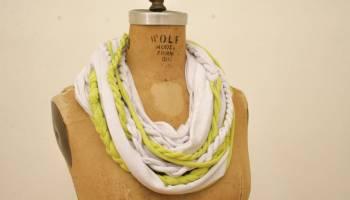 no sew shirt scarf | diy t-shirt tutorials