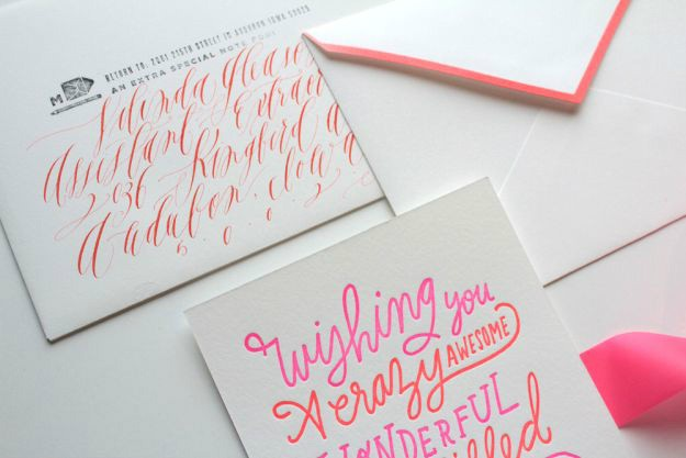 Christmas Calligraphy Cards DIY Projects Craft Ideas Amp How