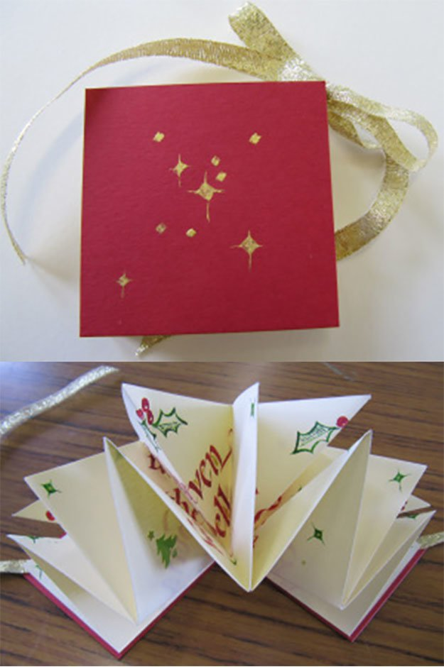 22 Handmade Calligraphy Christmas Cards DIY Christmas