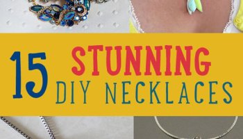 15 Stunning DIY Necklaces | DIY Jewelry