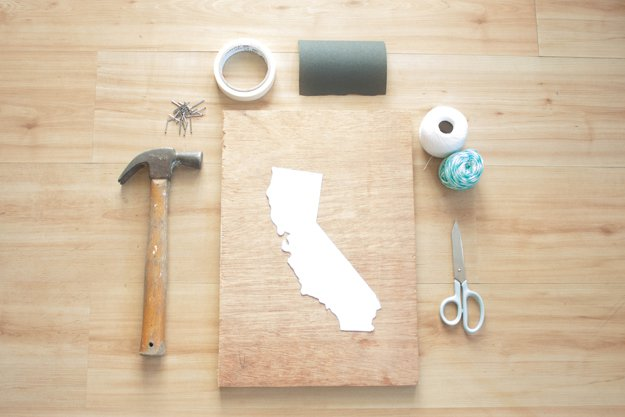 Diy State String Art Room Decor Ideas By Projects At S