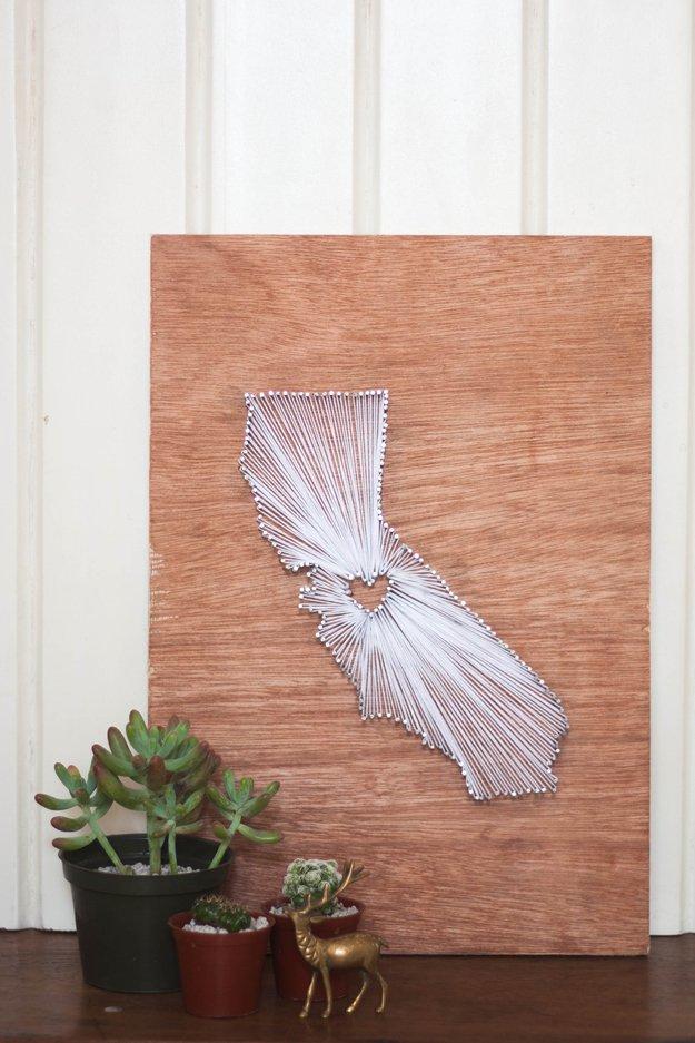 Diy Nail String Art Tutorial Semidiy State And Nails Home Design Ideas