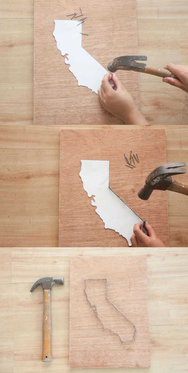 Diy String Art Projects Wall Ideas By At S