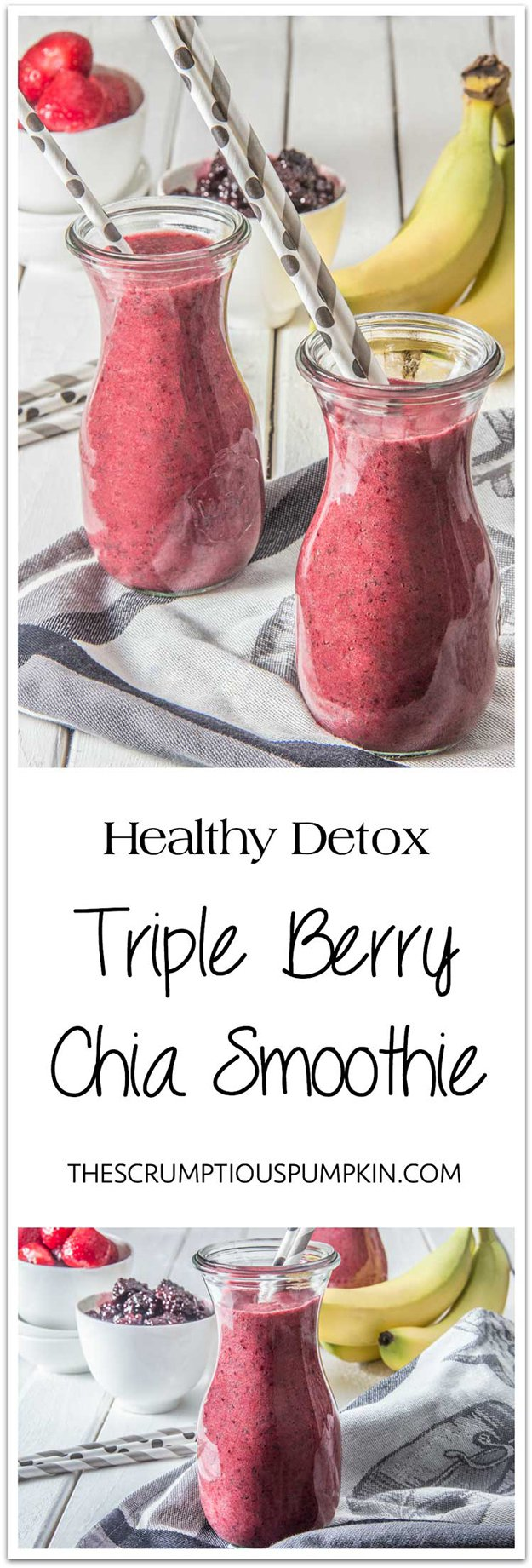 Healthy Vegan Berry Detox Smoothie | www.diyprojects.com/13-detox-smoothies-proven-to-boost-your-energy/