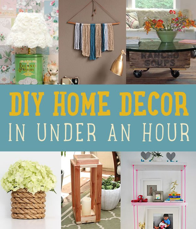 Easy Diy Home Decor Projects